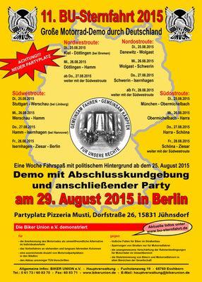 Sternfahrt 2015